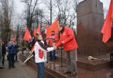 В Череповце коммунисты провели митинг