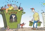 Тариф за мусор в Череповце оказался одним из самых высоких в России. Выше только в Вологде.