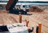 На берегу Шексны в Череповце возводят судостроительный завод