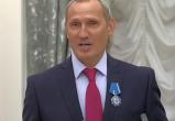 Житель Череповца получил Орден почета из рук Владимира Путина