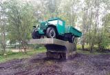 В Череповецком районе появился необычный памятник