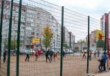Череповецкие бизнесмены построили спортивную площадку