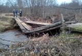 Комиссия обследовала мосты Череповецкого района, пострадавшие от паводка