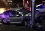 ДТП Череповца: авто врезалось в столб