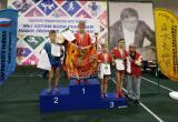 Бронзовую медаль с Открытого турнира по самбо привез Андрей Лещенко