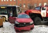 Проверка по факту смертельного ДТП с пожарной машиной в Череповце продолжается